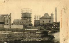 PBK-1993-150 De gasfabriek aan de Korte Feijenoorddijk (de verbindingsweg tussen de Persoonshaven en de ...