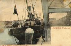 PBK-1993-409 De kade aan de oostzijde van de Rijnhaven, gezien uit het zuidoosten.
