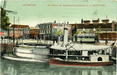 PBK-1993-439 Marinevaartuig ,, De Das aan de Admiraliteitskade, bij het Oostplein, vanuit het zuiden.