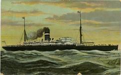 PBK-1993-444 Statendam I, vracht- en passagiersschip van de Holland-Amerika Lijn.