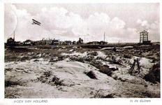 PBK-1993-453 De duinen in Hoek van Holland. Op de achtergrond de semafoor.