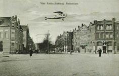 PBK-1993-492 Gezicht op de Vierambachtsstraat ter hoogte van de Burgemeester Meineszlaan rechts en de Heemraadssingel links.