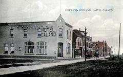 PBK-1993-547 Gezicht op hotel Caland op de hoek van de Prins Hendrikstraat en de Nijverheidstraat in Hoek van Holland
