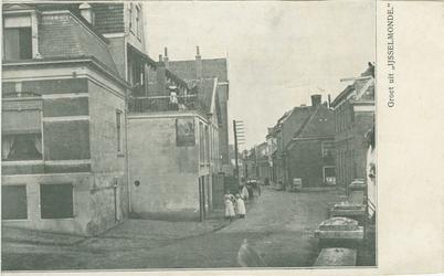 PBK-1993-584 Gezicht in de Benedenstraat in IJsselmonde.
