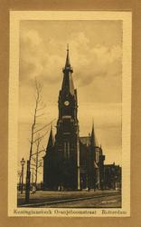 PBK-1993-609 Gezicht op de Wilhelminakerk aan de Oranjeboomstraat, links de Persoonsstraat.