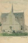 PBK-1993-686 De rooms-katholieke Hildegardiskerk aan de Hildegardisstraat, voor de verbouwing, uit het westen.