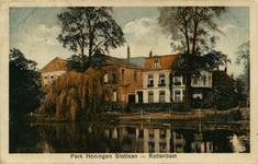 PBK-1993-776 Villa's Het Nieuwe Slot, Het Oude Slot, en Rosarium aan de Slotlaan in Park Honingen.
