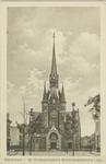 PBK-1993-870 Blommersdijkselaan. Op de achtergrond de Sint-Hildegardiskerk, op de hoek van de Hildegardisstraat en de ...