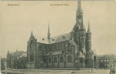 PBK-1993-871 De Sint-Hildegardiskerk aan de Hildegardisstraat.