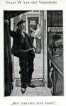 PBK-1994-134 Bezoeker van tapperij in deuropening.