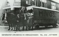 PBK-1994-139 Reclame voor H. Vos Verhuizingen, één van de oudste en het meest bekende verhuisbedrijf in de regio ...