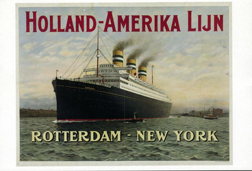 PBK-1994-54 Gezicht op het passagiersschip Statendam van de Holland-Amerika Lijn.