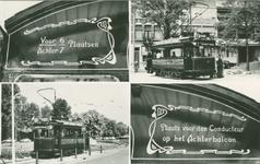 PBK-1994-60 Motorrijtuigen 1 en 11 van de Rotterdamse Electrische Tram.