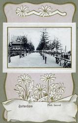 PBK-1999-56 Gezicht op de wandelpromenade in het westelijk deel van het Park, Links De Heuvel, rechts de Parkkade.
