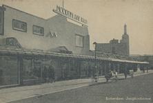 PBK-1999-68 Gezicht op de noodwinkels Noordblaak 1940 aan de Jonghkindstraat uit het noorden.