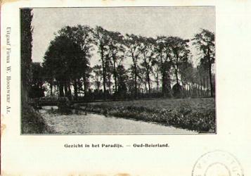 PBK-2000-278 Gezicht in het Paradijs in Oud-Beijerland.