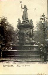 PBK-2000-345 Monument Maagd van Holland aan de Nieuwemarkt.