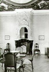 PBK-2002-55 De Regence-zaal 2e kwart 18e eeuw in het Historisch Museum aan de Korte Hoogstraat.