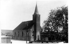 PBK-2003-255 Gezicht op de Nederlandse Hervormde kerk aan de Achterweg in Hoogvliet.