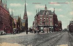 PBK-2004-113 Gezicht in de Van Vollenhovenstraat. Links op de achtergrond de Sint-Ignatiuskerk, rechts de ...
