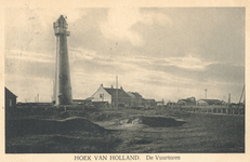 PBK-2004-404 Gezicht op de hoge vuurtoren in Hoek van Holland.