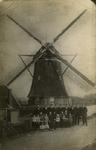 PBK-2005-266 Bovenmolen van de Schieveense polder, de schepradmolen C. van der Does (vernieuwd in 1853), aan de ...