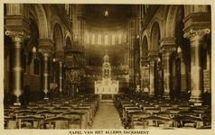 PBK-2005-307 Kapel van het Allerheiligste Sacrament in het retraitehuis Thabor aan de Eendrachtsstraat nummer 95.