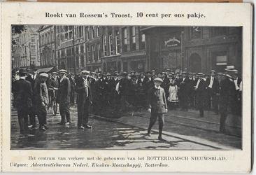 PBK-2005-60 Album met prentbriefkaarten, betreffende Rotterdam in tijden van oorlogsgevaar.Selectie van 5 uit 10 ...