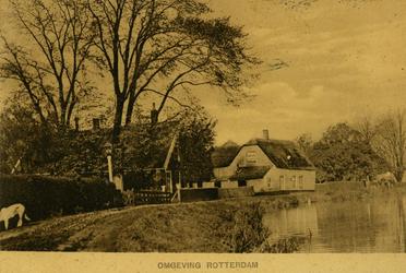PBK-2005-790 De Terbregse Rechter Rottekade. Het witte huis is de boerderij van I. Bevaart.