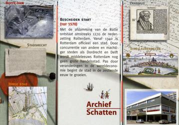 PBK-2005-846-1-TM-5 Serie van10 prentbriefkaarten met schatten uit het archief, waarvan 5 afgebeeld.Van boven naar ...