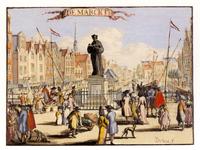 PBK-2006-112 Standbeeld van Erasmus aan de Grotemarkt.