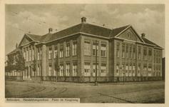 PBK-2006-119 Het gebouw van de Nederlandse Handelshogeschool aan de Pieter de Hoochweg.