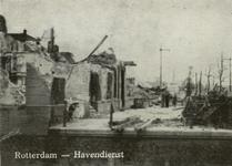 PBK-2006-201-1-TM-9 Serie van 9 prentbriefkaarten betreffende verwoeste plekjes na het bombardement van 14 mei 1940 als ...