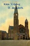 PBK-2006-26 Prentbriefkaart voor de verkiezingscampagne van kandidaat D. de Klerk van de Liberale Partij, voor de ...
