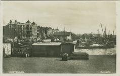 PBK-2007-373 Het Bolwerk. Op de achtergrond de mond van de Oudehaven, hotel Smits, de Oosterkade en het Maasstation, ...