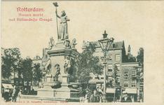 PBK-2007-518 Monument Maagd van Holland aan de Nieuwemarkt, uit het westen gezien.