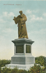 PBK-2007-570 Het standbeeld van Erasmus aan de Grotemarkt.