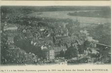 PBK-2007-587 Luchtopname van de Kolk en omgeving en op de achtergrond de Nieuwe Maas vanaf de toren van de Grote of ...