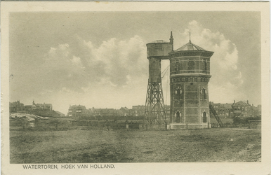PBK-2008-280 De watertoren in Hoek van Holland.
