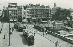 PBK-2008-569 Het eindpunt van de tramlijnen 7 en 8 (respectievelijk Beursplein-Westzeedijk-Beursplein) en ...