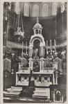 PBK-2072 De altaar der kapel van het Allerheiligste Sacrament dagelijkse aanbidding in het retraitehuis Thabor aan de ...