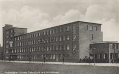 PBK-2214 Het Sophia Kinderziekenhuis aan de Gordelweg, gezien uit het noordwesten.