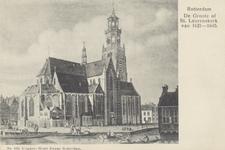 PBK-2394 Grote- of Sint Laurenskerk aan het Grotekerkplein.