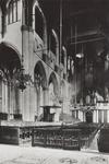 PBK-2443 Het interieur van de Grote Kerk, naar het orgel toe.