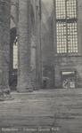 PBK-2494 Puinresten na het bombardement 14 mei 1940.Het interieur van de Grote Kerk aan het Grotekerkplein.