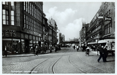 PBK-288 Meent ook wel Heerenstraat genoemd, bij de Goudsesingel. Verbreed tot een ruime verkeersweg, met moderne ...
