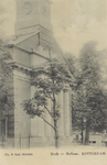 PBK-2887 De voorzijde van de Nederlandse Hervormde Hoflaankerk, aan de westzijde van de Hoflaan nummer 1, uit het ...