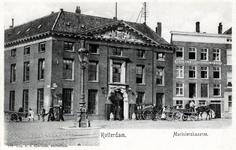 PBK-291 Marinierskazerne, op de hoek van het Oostplein en de Nieuwehaven.