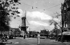 PBK-292 Oostplein met molen de Noord, uit het zuiden gezien.
