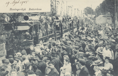 PBK-3072 Bij de herberg In den Rustwat vindt op 18 september 1905, de officiele feestelijke opening plaats van ...
